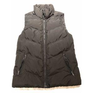 Gap Black Primaloft Puffer Vest - Size Small Tall